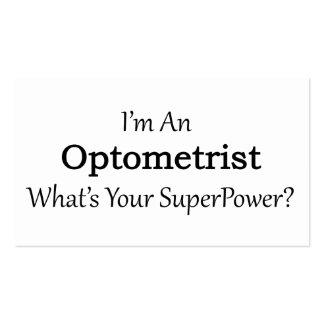 Optometrista Tarjetas De Visita
