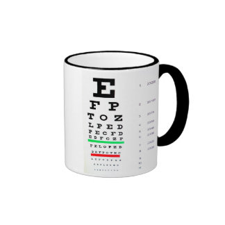 Optometrista Tazas