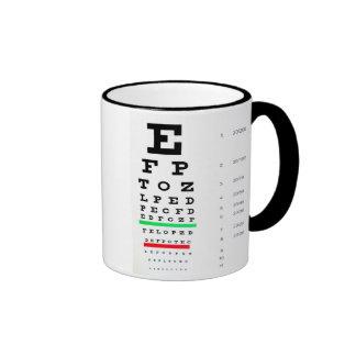Optometrista Taza De Dos Colores