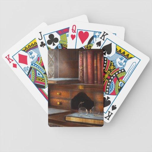 Optometrista - vidrios - trayectorias profesionale cartas de juego