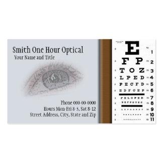 Optometrists Business Card
