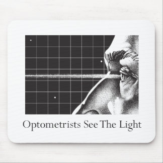 Optometrists See The Light Mouse Pad