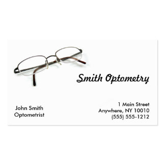 Optometry Business Card