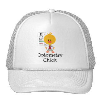 Optometry Chick Hat