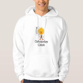 Optometry Chick Hooded Sweatshirt