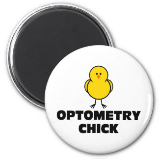 Optometry Chick Magnet
