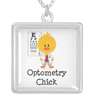 Optometry Chick Necklace