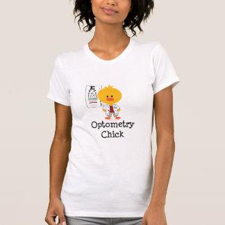 Optometry Chick Scoop Neck T-shirt