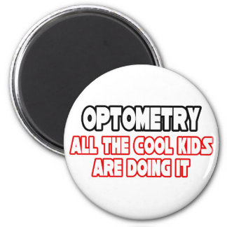Optometry...Cool Kids 2 Inch Round Magnet