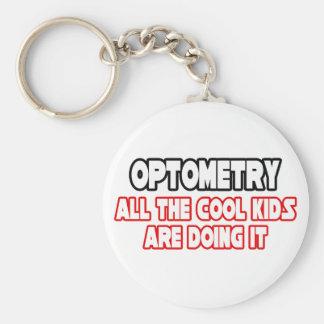 Optometry...Cool Kids Basic Round Button Keychain