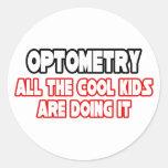 Optometry...Cool Kids Classic Round Sticker