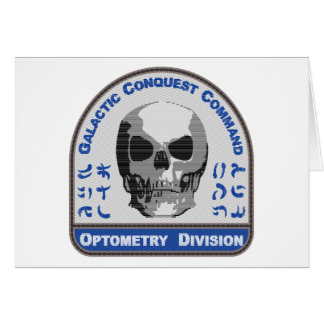Optometry Division - Galactic Conquest Command Card