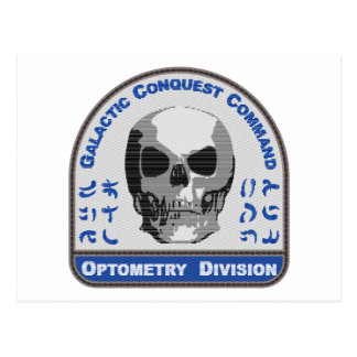 Optometry Division - Galactic Conquest Command Postcard