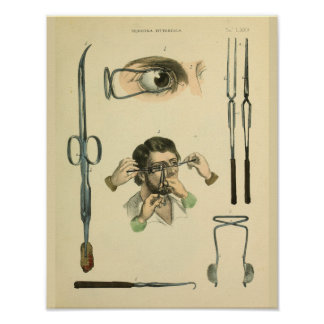 Optometry Eye Surgery Medical Art Print