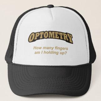 Optometry / Fingers Trucker Hat