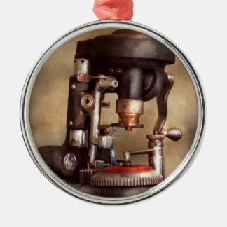 Optometry - Lens cutting machine Metal Ornament
