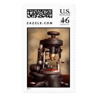 Optometry - Lens cutting machine Stamp