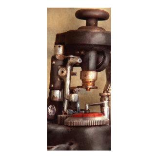 Optometry - Lens cutting machine Rack Card