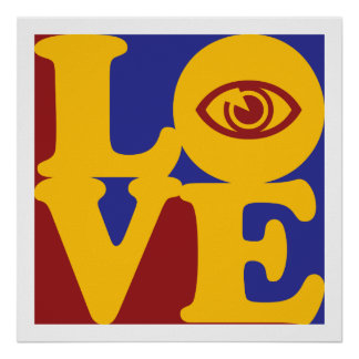 Optometry Love Poster
