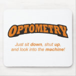 Optometry / Machine Mouse Pad