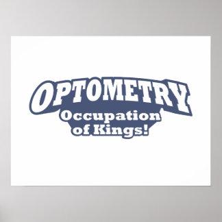 Optometry – Occupation of Kings! Poster