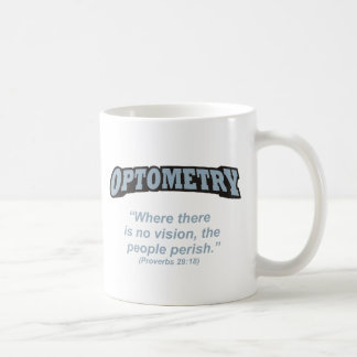 Optometry / Perish Classic White Coffee Mug