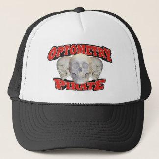 Optometry Pirate Trucker Hat