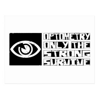 Optometry Survive Postcard