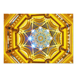 Opulent Dome of the Emirates Palace Hotel Card