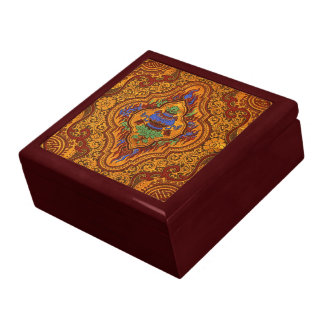 Opulent Oriental Silk Gift Box