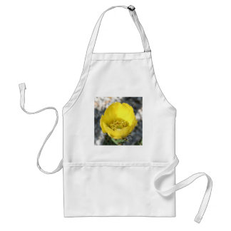 Opuntia Ficus-Indica Prickly Pear Flower Adult Apron