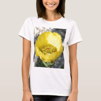 Opuntia Ficus-Indica Prickly Pear Flower T-Shirt