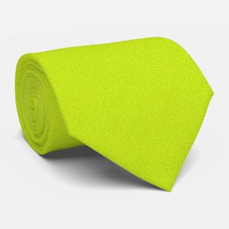 OPUS 1111 Fluorescent Yellow Neck Tie