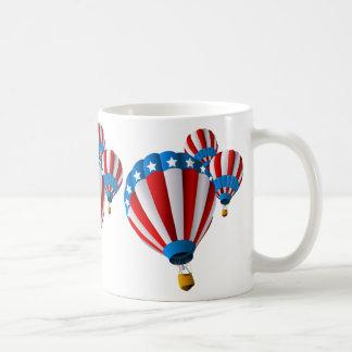 OPUS American Hot Air Balloon Coffee Mugs