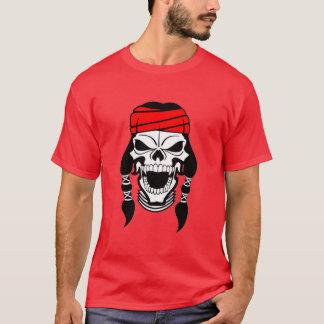 OPUS Apache Indian Skull T-Shirt