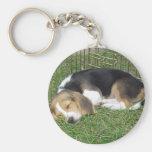 Opus Beagle Key Chain