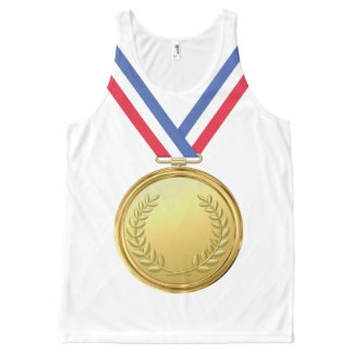 OPUS Champion Gold Medal All-Over-Print Tank Top