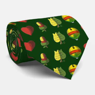 OPUS CHANGEABLE Hungarian Card Neck Tie