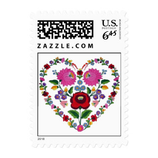 OPUS CHANGEABLE Hungarian Heart Postage