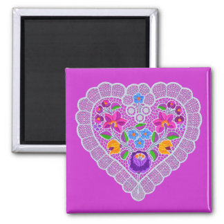 OPUS CHANGEABLE Lace Heart Magnet
