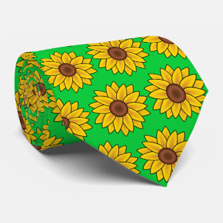 OPUS CHANGEABLE Sunflowers - Double Sided Tie
