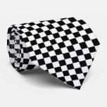 OPUS Checkered Floor Tie