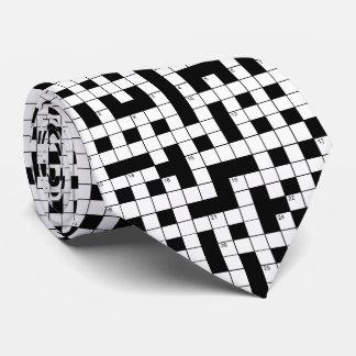 OPUS Crossword Puzzle Neck Tie