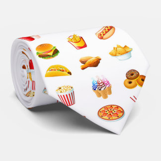 OPUS Fast food Neck Tie