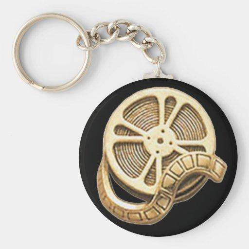 OPUS Gold Film Reel Keychain