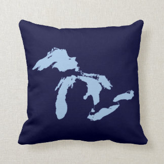 OPUS Great Lakes Throw Pillow