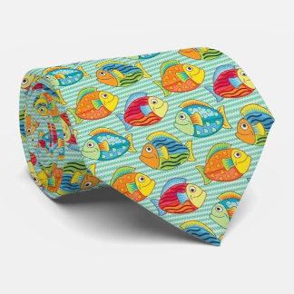 OPUS Happy Fishes Neck Tie