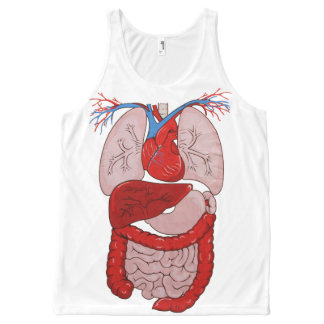 OPUS Human Anatomy All-Over-Print Tank Top