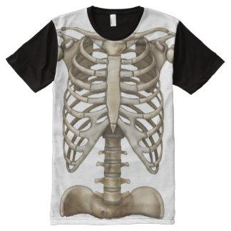 OPUS Human Skeleton All-Over-Print T-Shirt