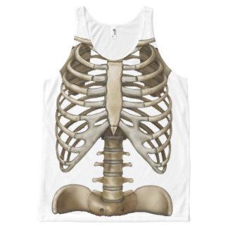 OPUS Human Skeleton All-Over-Print Tank Top